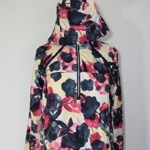 Lululemon Miss Misty Pullover Inky Floral Ghost